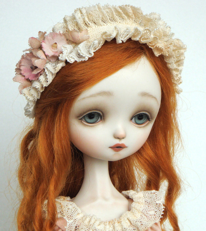 Julie Pink Porcelain Ball Jointed Doll Bjd